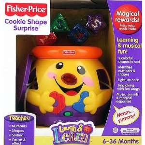 Fisher Price   Cookie Shape Surprise w Music, Sounds & Lights   Baby