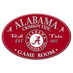 Alabama Crimson Tide Gameroom Sign