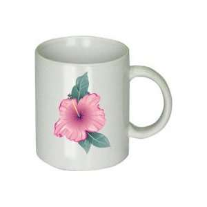 Set of Four Hibiscus Coffee Cups Everything Else