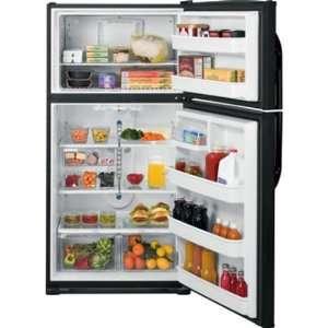 Cu. Ft. Black Top Freezer Refrigerator
