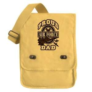 Messenger Field Bag Yellow Proud Air Force Dad Jets Everything Else