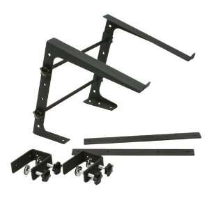 Mr. Dj LAPTOP STAND LTS109 DJ Gear Stand, Black Musical Instruments
