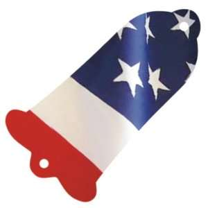 Patriot Flag Graphical Gibson Bell Style Les Paul SG Truss Rod Cover