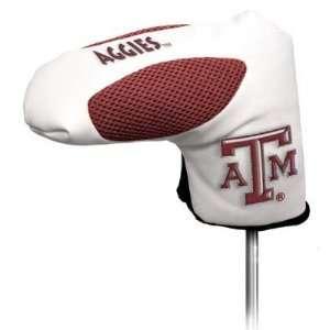 Texas A&M University Aggies Golf Club Putter Headcover