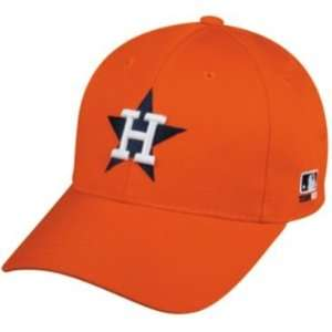 MLB Cooperstown ADULT Houston ASTROS Orange Hat Cap Adjustable Velcro