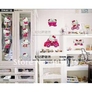 33x60cm ysz017 hello kitty wall stickers mixable kt cartoon pc phone
