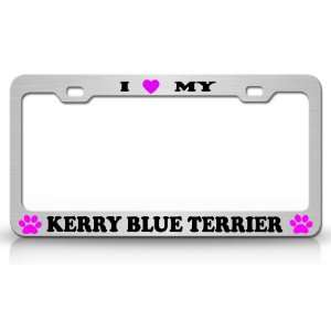 I LOVE MY KERRY BLUE TERRIER Dog Pet Animal High Quality