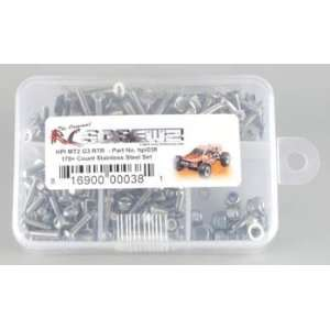 HPI038 Stainless Steel Screw Kit MT2 G3 RTR Toys & Games
