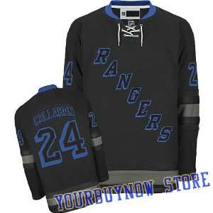 NHL Gear   Ryan Callahan #24 New York Rangers Black Ice Jersey Hockey