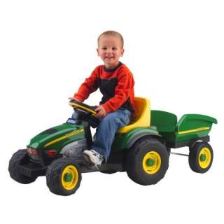 Peg Perego John Deere Farm Tractor & Trailer Toys & Games