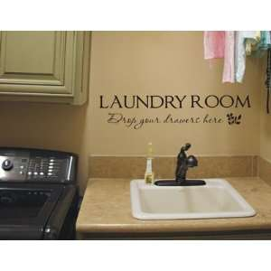 Laundry Room Quote Wall Words Decals Lettering