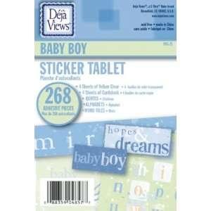 STICKER TABLET BABY BOY