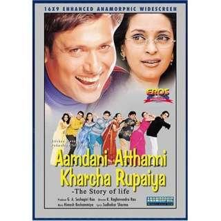 Asrani., Chandrachur Singh, Govinda, Isha Kopikar, Johnny Lever
