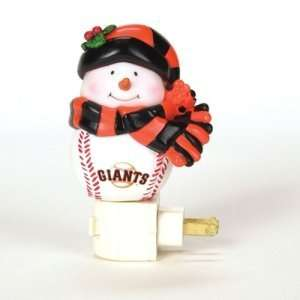 San Francisco Giants MLB Home Run Snowman Night Light (5