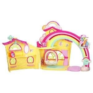 My Little Pony Ponyville Rainbow Dash House : Toys & Games :