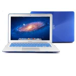 Hard Macbook Air Case (For 13 Inches)   With Blue Protective Keyboard