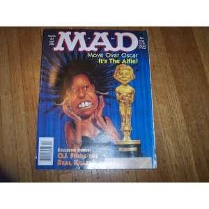 April 1996 Mad Magazine #344  Whoopi Goldberg Dave Berg