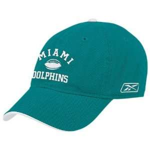 Reebok Miami Dolphins Aqua Script Slouch Hat  Sports