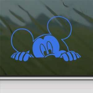 MICKEY MOUSE Blue Decal Car Truck Bumper Window Blue