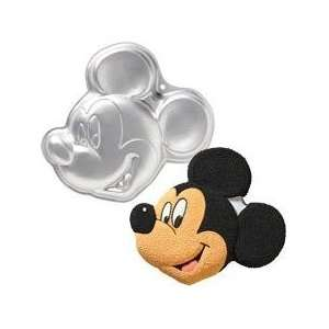 Mickey Mouse Cake Pan Re usable One Cake Mix Size Pan Use Your