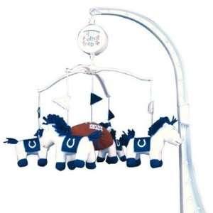 Colts Baby Crib Team Mascot Mobile NFL Football