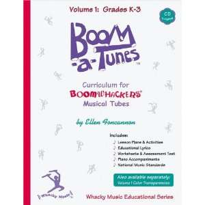 Boom A Tunes Curriculum Volume 1 (Book/CD ) Musical Instruments