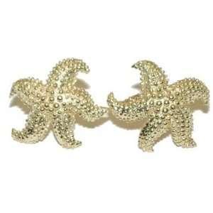 Reyes del Mar 14K Gold Starfish Earring