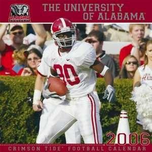 Alabama Crimson Tide 2006 Team Wall Calendar  Sports