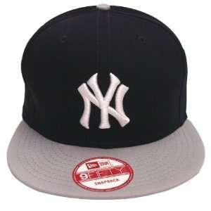 New York Yankees Retro New Era Logo Snapback Cap 2 Tone