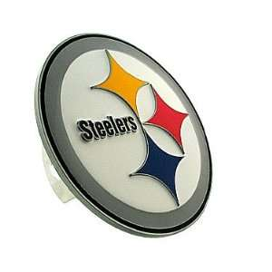 NFL Pittsburgh Steelers Logo Hitch Cover Sports