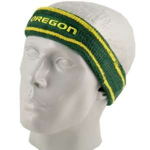 Nike Oregon Ducks Green Elite Headband:  Sports & Outdoors