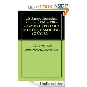 US Army, Technical Manual, TM 5 2805 261 23P, OUTBOARD MOTOR, GASOLINE
