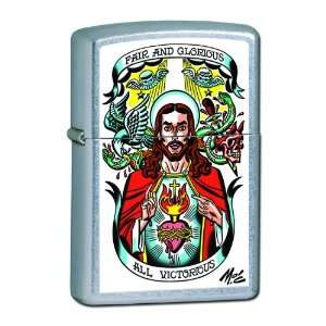 Zippo Mitch OConnell All Victorious Pocket Lighter (Multi, 5 1/2 x 3