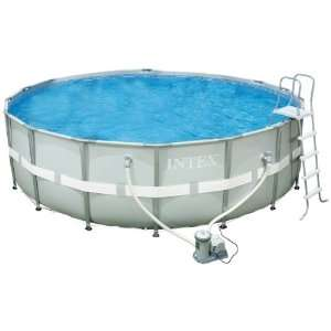 Intex 54957EG 18 Foot by 52 Inch Ultra Frame Pool Set