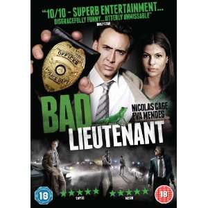 Bad Lieutenant (2010) Nicolas Cage; Eva Mendes Movies