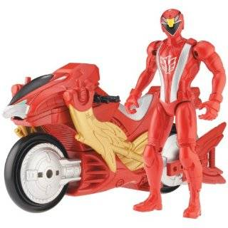 Power Ranger RPM Racing Performance Cycle with 5 Figure Auxiliary