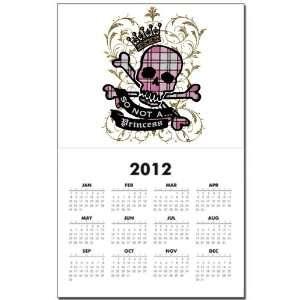 Calendar Print w Current Year So Not A Princess