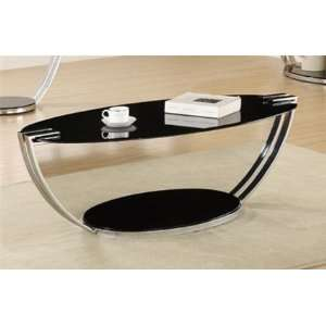 Chrome Plated Coffee Table by Coaster Furniture Home