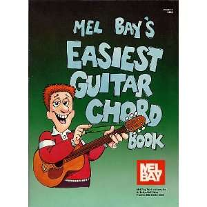 Mel Bays Easiest guitar chord book: William Bay: Books