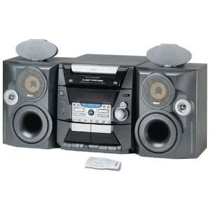 RCA RS2606 50 Watt 5 CD Compact Stereo System with AM/FM