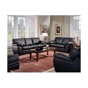 Modern Leather Sofa Loveseat Chair Living Room Set