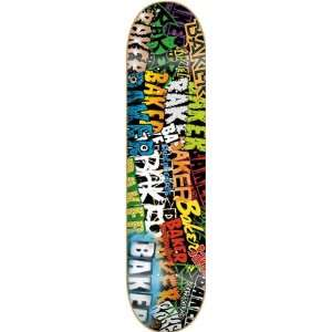 Baker Sticker Craze Ii Deck 8.19 Skateboard Decks Sports