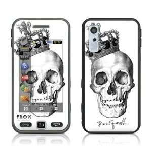 Skull King Design Protective Skin Decal Sticker for Samsung Star