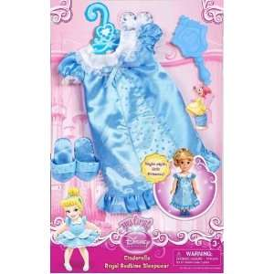 Princess My First Cinderella Doll Royal Bedtime Sleepwear Pajama Set