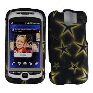 Yellow Star Premium Designer Hard Protector Case For HTC MYTOUCH SLIDE