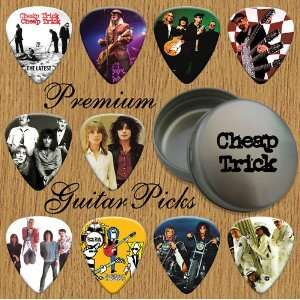 Cheap Trick Premium Guitar Picks X 10 In Tin (0) Musical Instruments