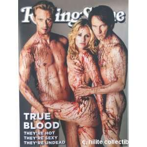True Blood Rolling Stone Cover Poster Large 26x36 Skarsgard, Moyer