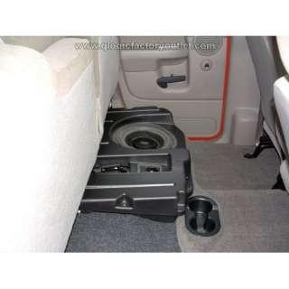 DODGE RAM QUAD CAB Q Logic Custom Subwoofer Enclosure