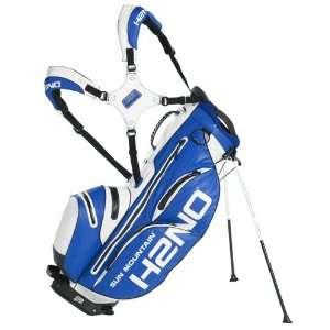New Sun Mountain 2012 H2NO Golf Stand Bag (Royal/White)