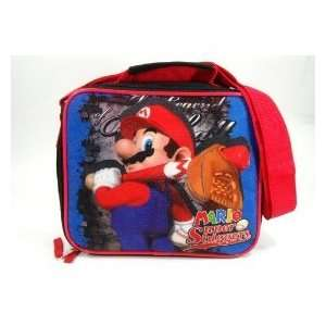 Super Mario Brothers Lunch Bag  Mario Super Sluggers Toys & Games